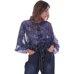 Textil Ženy Halenky / Blůzy Gaudi 021BD45006 Modrý