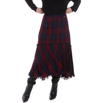 Textil Ženy Sukně Gaudi 021BD75006 Modrý