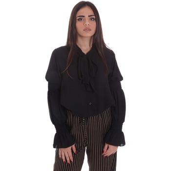 Textil Ženy Halenky / Blůzy Gaudi 021BD45025 Černá