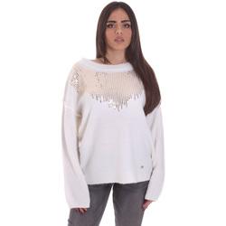Textil Ženy Svetry Gaudi 021BD53044 Bílý