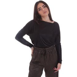Textil Ženy Trička s dlouhými rukávy Gaudi 021FD64014 Černá