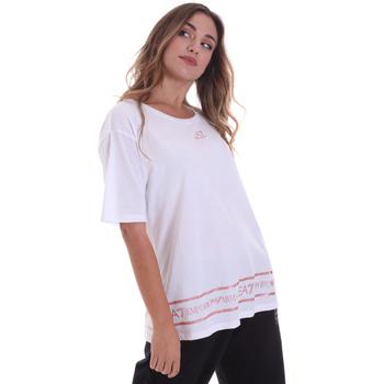 Textil Ženy Trička s krátkým rukávem Ea7 Emporio Armani 6HTT32 TJ52Z Bílý
