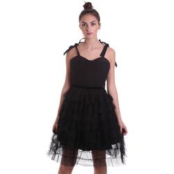 Textil Ženy Krátké šaty Fracomina F120W14019W01201 Černá