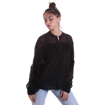 Textil Ženy Košile / Halenky Fracomina F120W15014W00401 Černá