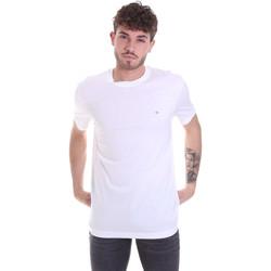 Textil Muži Trička s krátkým rukávem Calvin Klein Jeans K10K106360 Bílý