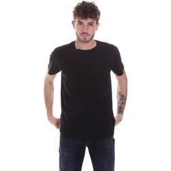 Textil Muži Trička s krátkým rukávem Calvin Klein Jeans J30J315860 Černá