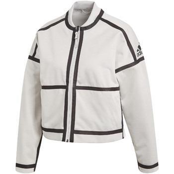 Textil Ženy Teplákové bundy adidas Originals CF1465 Bílý