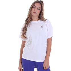 Textil Ženy Trička s krátkým rukávem Fila 682319 Bílý