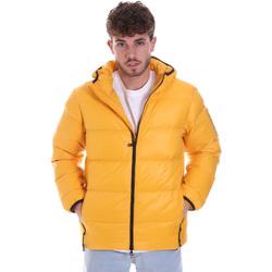 Textil Muži Prošívané bundy Ea7 Emporio Armani 6HPB53 PNR4Z Žlutá