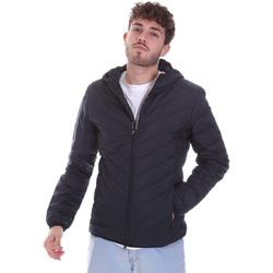 Textil Muži Prošívané bundy Ea7 Emporio Armani 8NPB07 PNE1Z Modrý