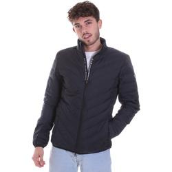 Textil Muži Prošívané bundy Ea7 Emporio Armani 8NPB06 PNE1Z Modrý