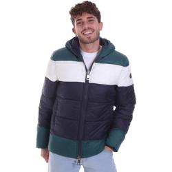 Textil Muži Prošívané bundy Gaudi 021GU35013 Zelený