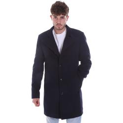Textil Muži Kabáty Gaudi 021GU35065 Modrý