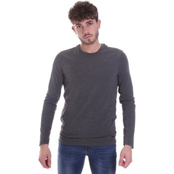 Textil Muži Trička s dlouhými rukávy Gaudi 021GU64022 Šedá