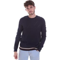 Textil Muži Svetry Gaudi 021GU53022 Modrý