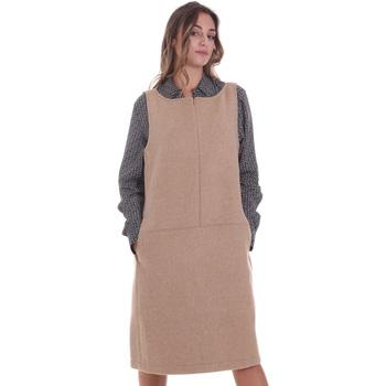 Textil Ženy Krátké šaty Calvin Klein Jeans K20K202451 Béžový
