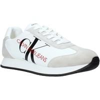 Boty Muži Nízké tenisky Calvin Klein Jeans B4S0716 Bílý