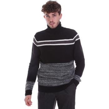 Textil Muži Svetry Gaudi 021GU53040 Černá