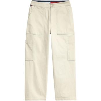 Textil Ženy Cargo trousers  Tommy Jeans DW0DW08326 Béžový