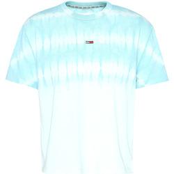 Textil Ženy Trička s krátkým rukávem Tommy Jeans DW0DW08541 Modrý
