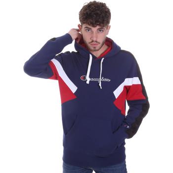 Textil Muži Mikiny Champion 214783 Modrý
