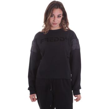 Textil Ženy Mikiny Freddy F0WTBS1 Černá