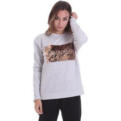 Textil Ženy Trička s krátkým rukávem Calvin Klein Jeans K20K202455 Šedá