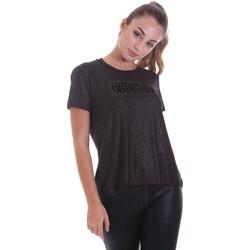 Textil Ženy Trička s krátkým rukávem Freddy F0WALT2 Černá