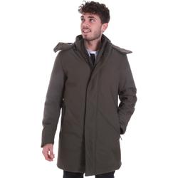 Textil Muži Kabáty Sseinse GBI684SS Zelený