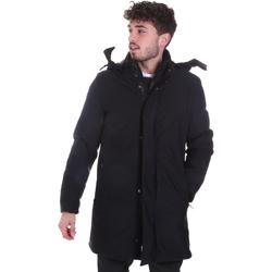 Textil Muži Kabáty Sseinse GBI684SS Černá