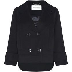 Textil Ženy Kabáty Calvin Klein Jeans K20K202461 Černá