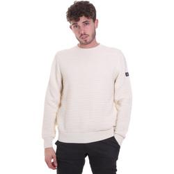 Textil Muži Svetry Navigare NV10325 30 Bílý