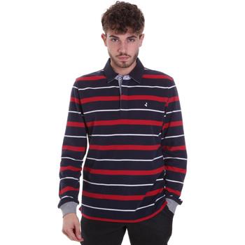 Textil Muži Polo s dlouhými rukávy Navigare NV30030 Modrý
