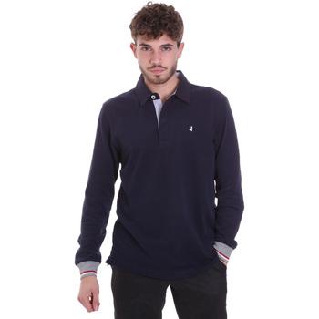 Textil Muži Polo s dlouhými rukávy Navigare NV32023 Modrý