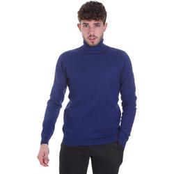 Textil Muži Svetry Sseinse MI1671SS Modrý