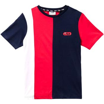 Textil Děti Trička s krátkým rukávem Fila 688008 Červené
