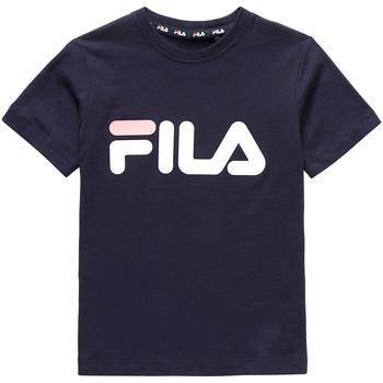 Textil Děti Trička s krátkým rukávem Fila 688021 Modrý