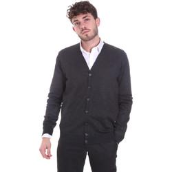 Textil Muži Svetry / Svetry se zapínáním Sseinse MI1621SS Šedá