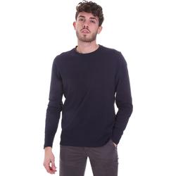 Textil Muži Trička s dlouhými rukávy Sseinse MI1691SS Modrý