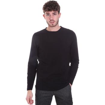 Textil Muži Trička s dlouhými rukávy Sseinse MI1691SS Černá