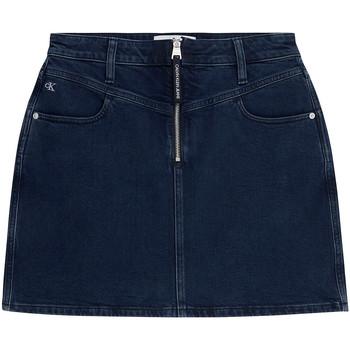 Textil Ženy Sukně Calvin Klein Jeans J20J214581 Modrý