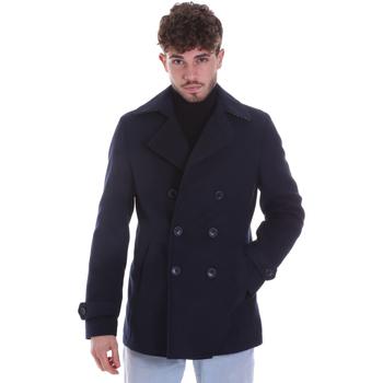 Textil Muži Kabáty Sseinse GBI625SS Modrý