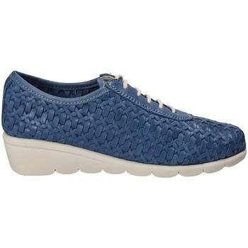 Boty Ženy Šněrovací společenská obuv The Flexx C2501_28 Modrý