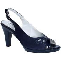 Boty Ženy Lodičky Grace Shoes E8174 Modrý