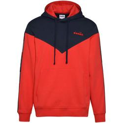 Textil Muži Mikiny Diadora 502176426 Modrý