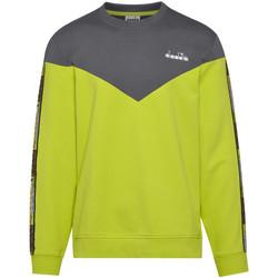 Textil Muži Mikiny Diadora 502176428 Zelený