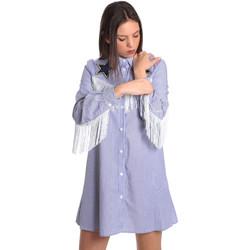 Textil Ženy Krátké šaty Denny Rose 811DD10018 Modrý