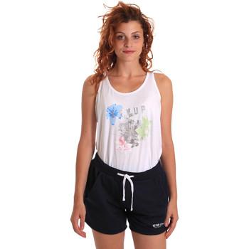 Textil Ženy Teplákové soupravy Key Up 5K78A 0001 Bílý