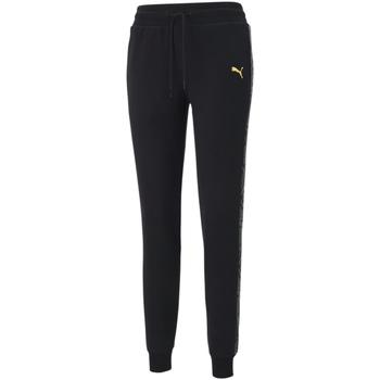 Textil Ženy Teplákové kalhoty Puma 587150 Černá