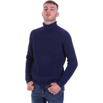 Textil Muži Svetry Antony Morato MMSW01141 YA200066 Modrý